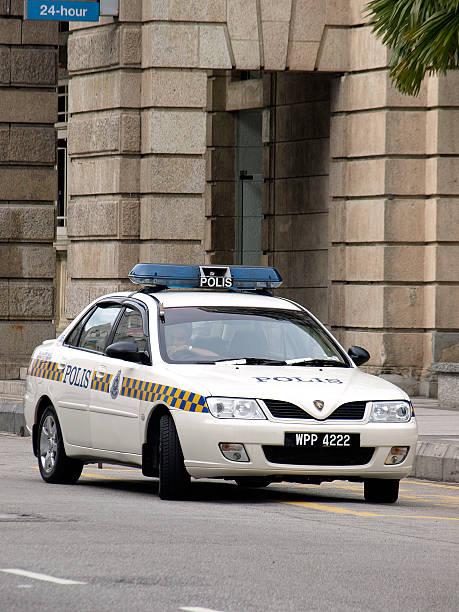 polizeiauto - proton auto stock-fotos und bilder