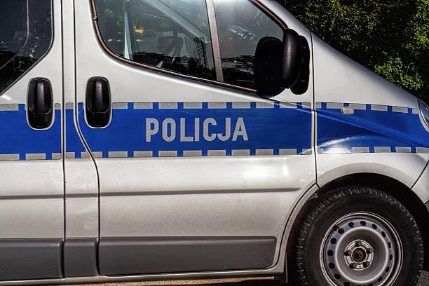 polizeiauto - flip flops reparieren stock-fotos und bilder