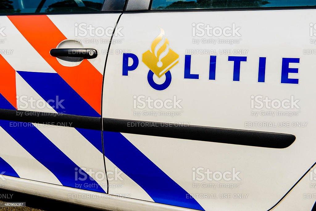 Police car foto