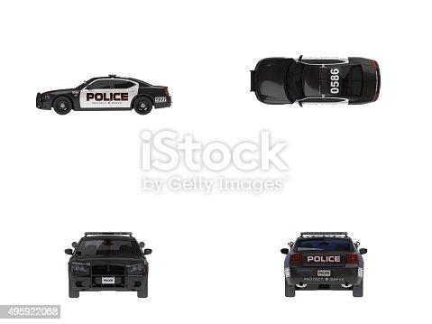 istock US Police Car(XXXXXL) 495922088