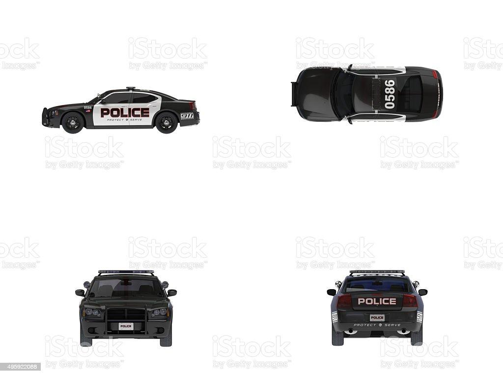 US Police Car(XXXXXL) stock photo