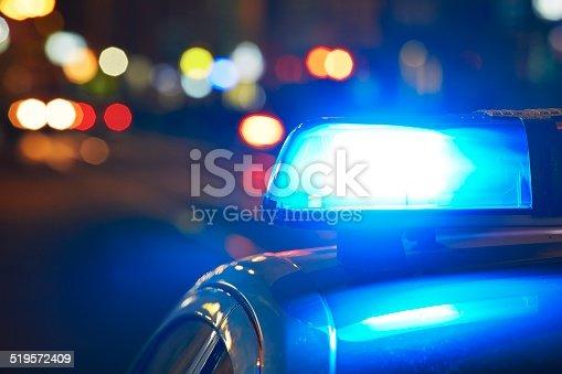 istock Police car 519572409