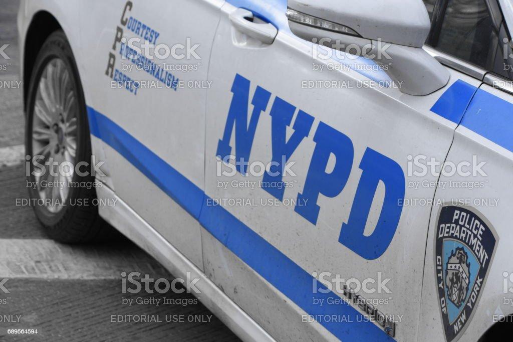 NYPD Polizei Auto – Foto