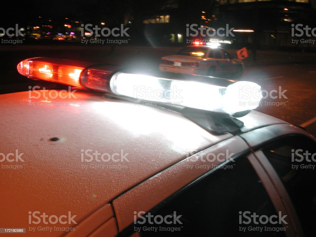 police cars royalty-free stock photo