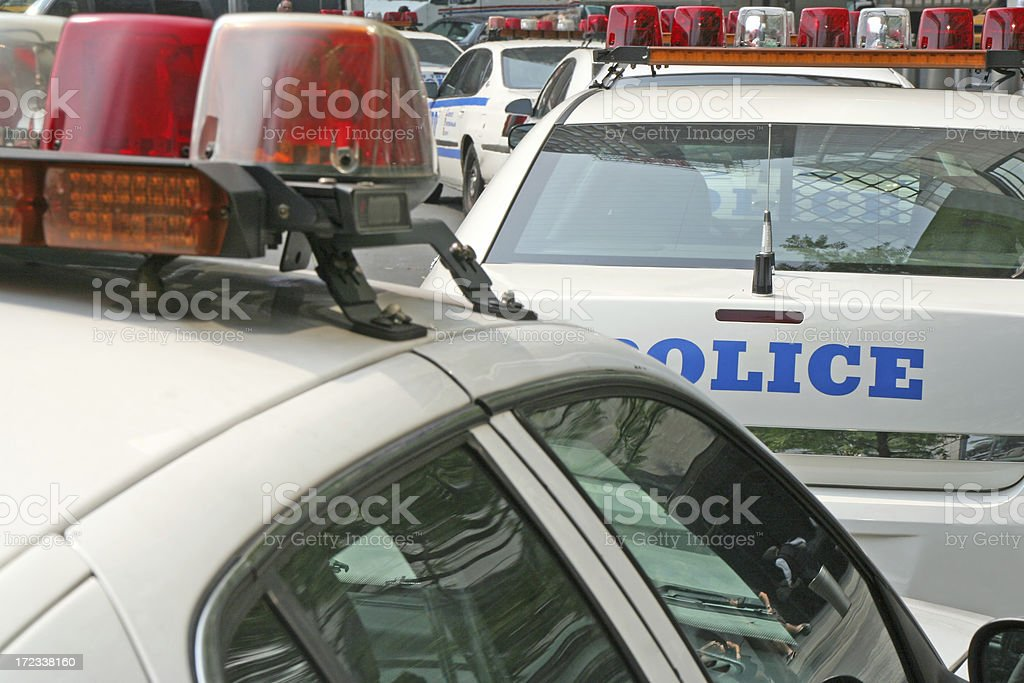 Police cars # 1 royalty-free stock photo