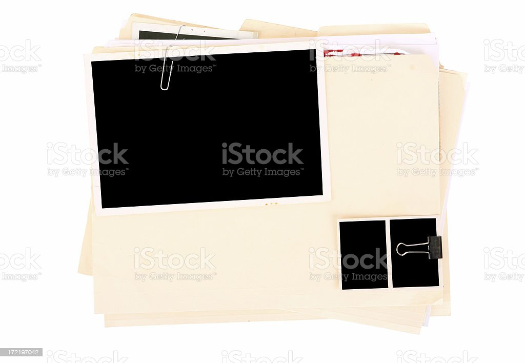 Police Case File royalty-free stock photo