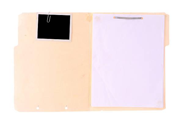 Police Case File stock photo