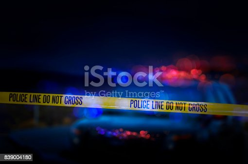 A stock photo of a Police Line