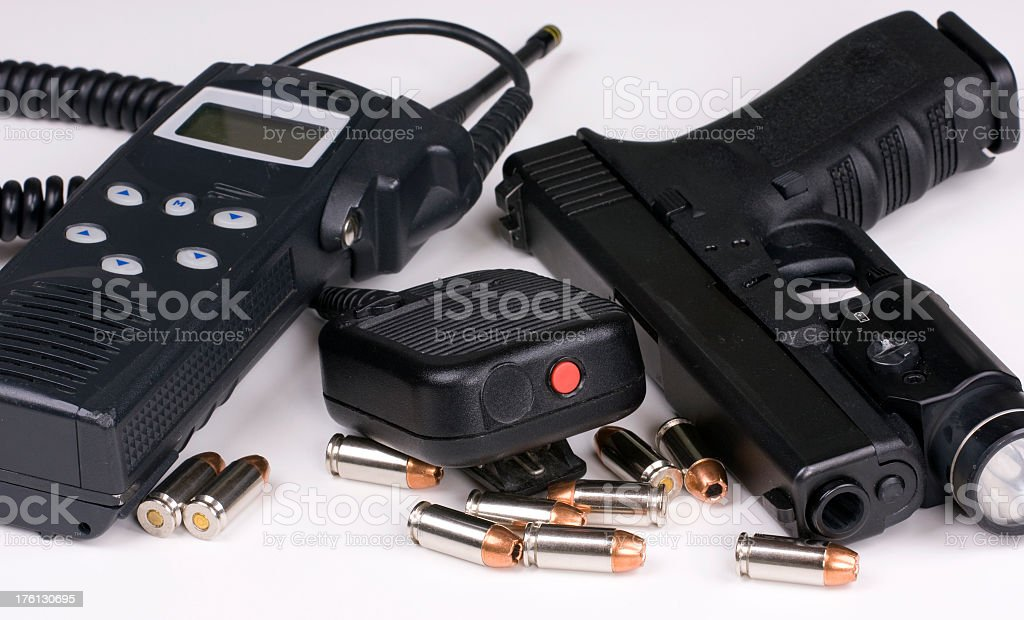 Police Equipment royalty-free stock photo