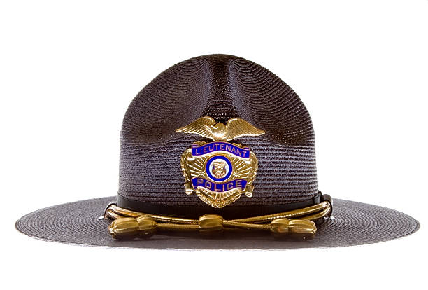 Police hat Trooper straw hat trooper stock pictures, royalty-free photos & images