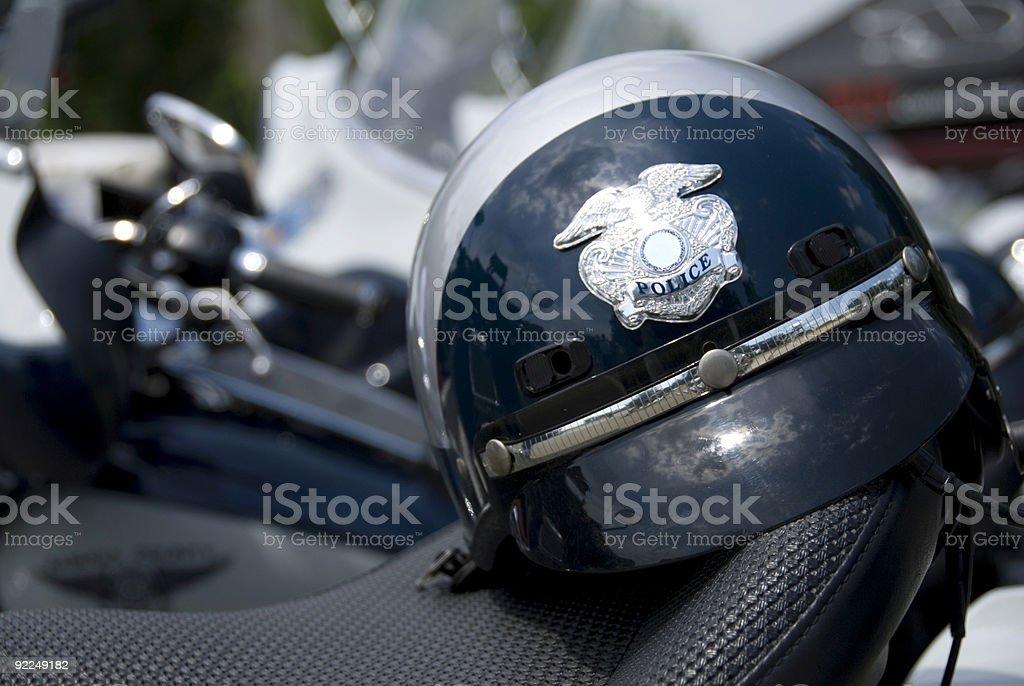 Police Helmet stock photo