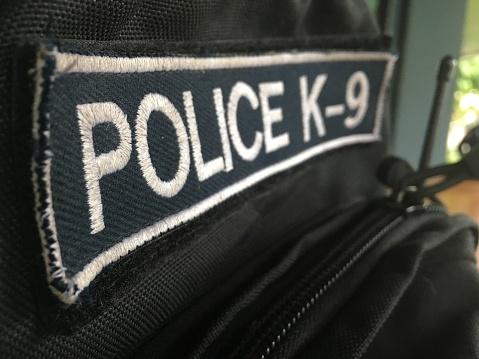 istock police k-9 badge 692161492