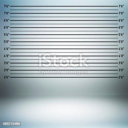 Police lineup or mug shot background
