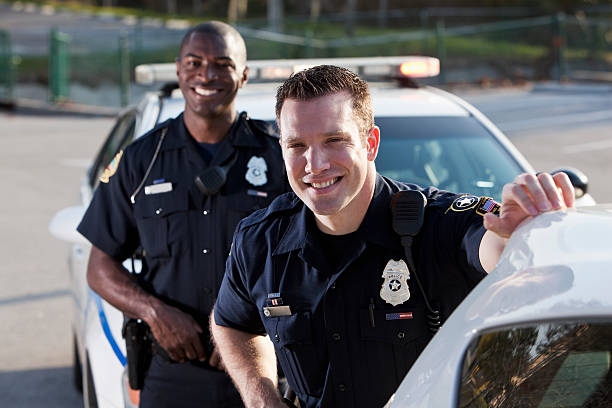 Polizei Polizisten – Foto