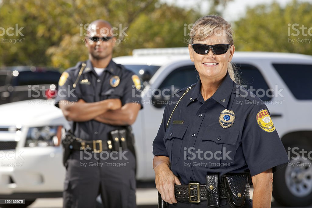 Police Partners stock photo