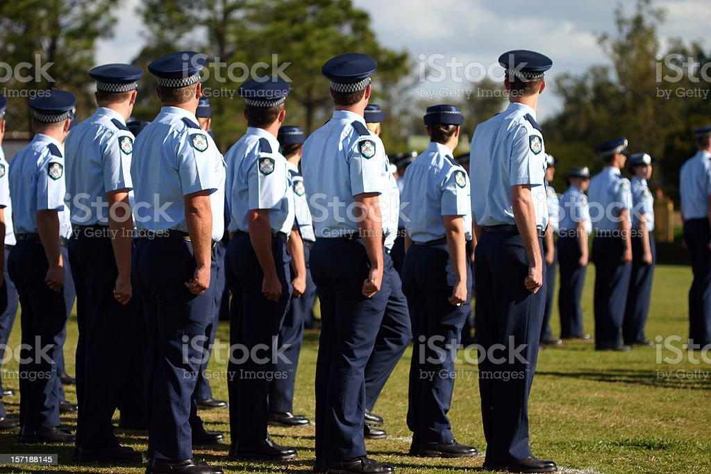 QLD police stock photo
