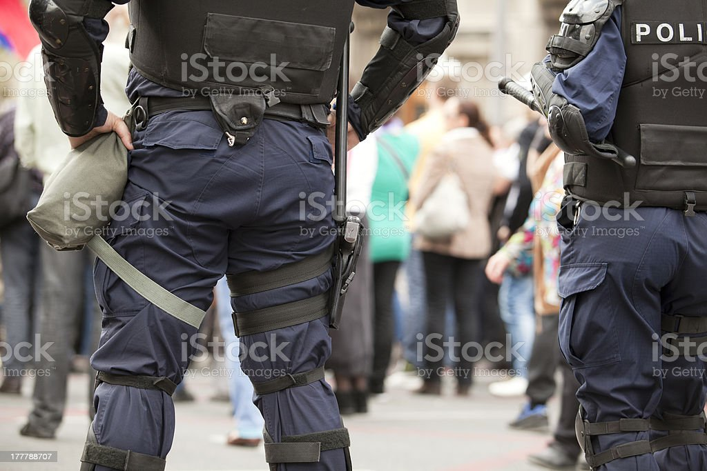 Police royalty-free stock photo
