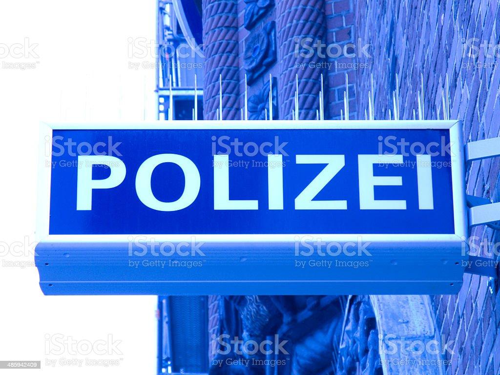 police polizei stock photo