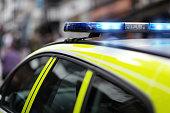 警察の妖婦、事故や犯罪シーン