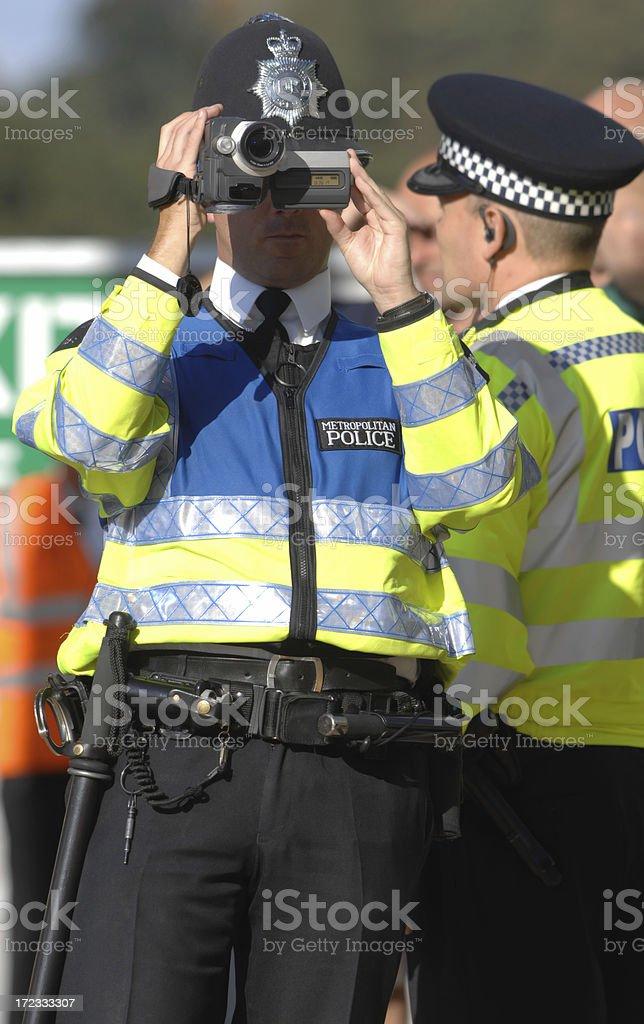 Police Surveillance royalty-free stock photo