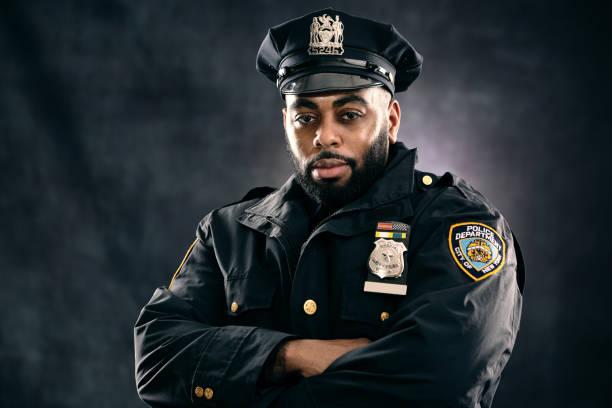 Policeman stock photo