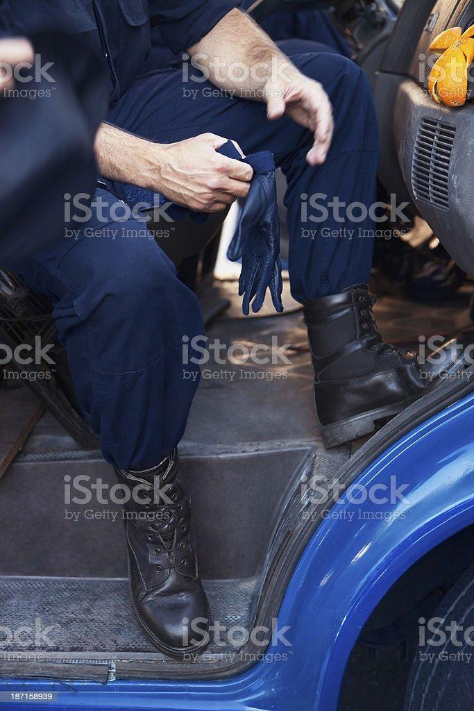 Policeman royalty-free stock photo