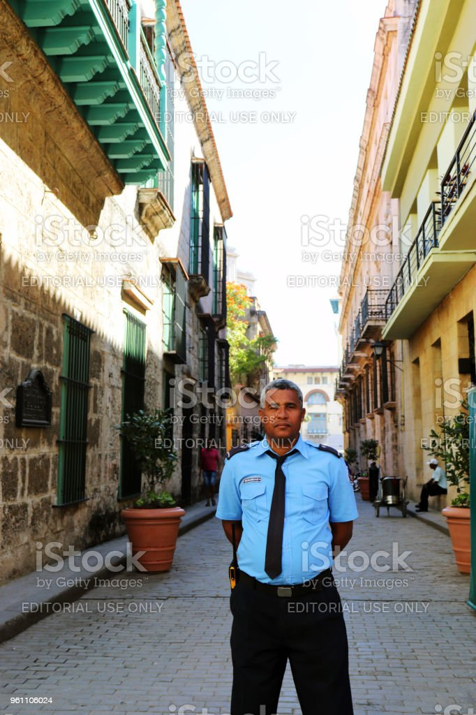 Policia 2 stock photo
