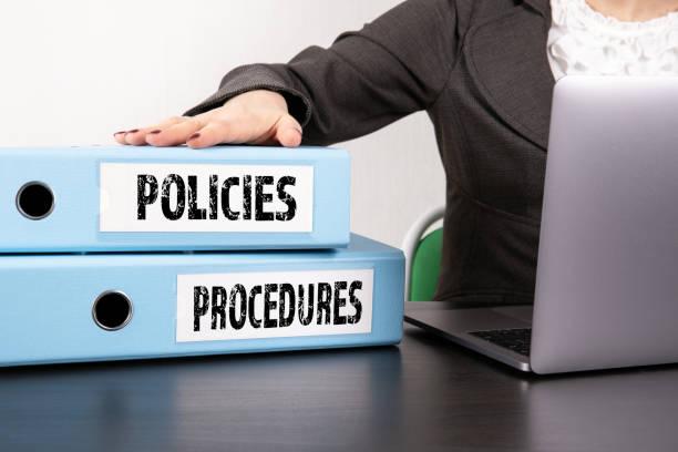 Policies and Procedures concept stock photo