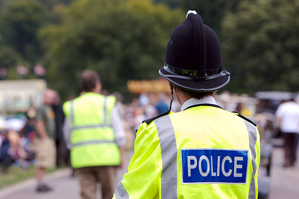 Policing the Summer Fair  civil servant stock pictures, royalty-free photos & images