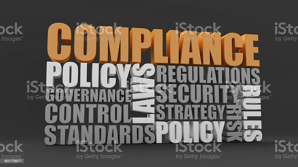 Policy, laws and compliance royalty-free stock photo