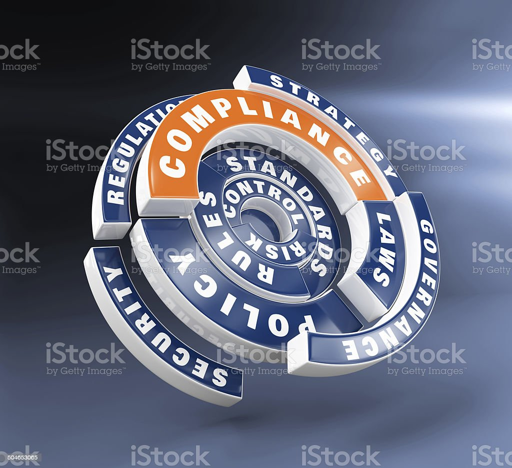 Policy, laws and compliance stock photo