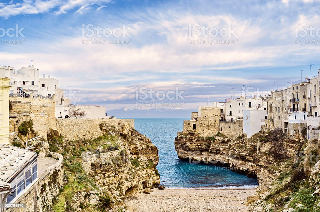 Polignano a Mare - Royalty-free Adriatic Sea Stock Photo
