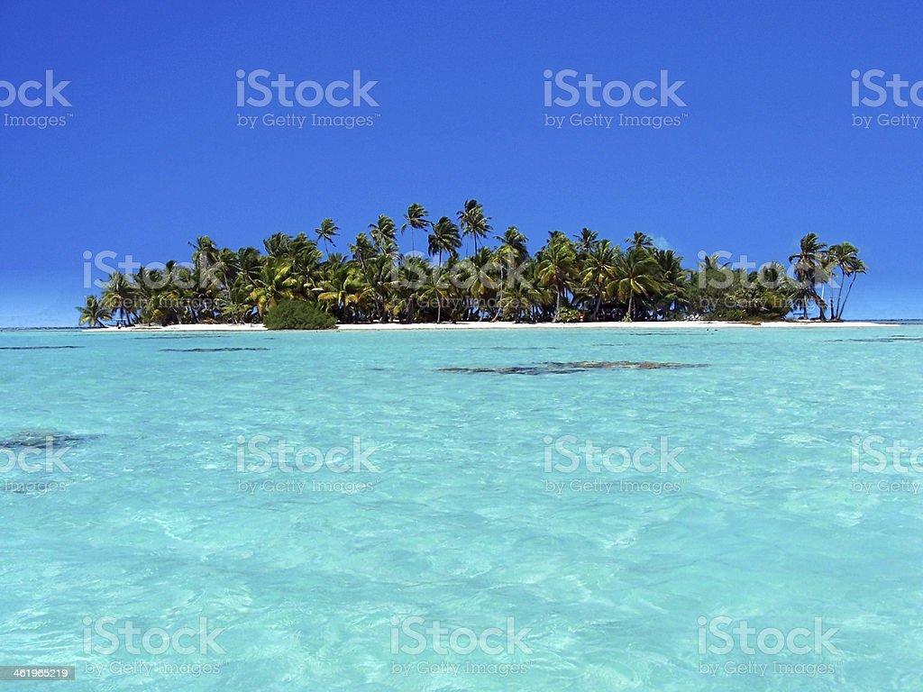 Polinesia stock photo
