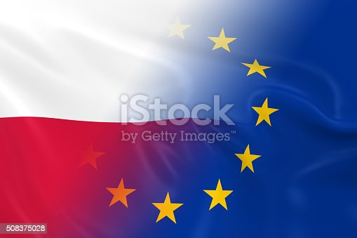 istock Polish and European Relations Concept Image 508375028