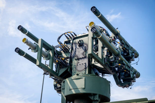 Polish anti aircraft missile set Poprad to very short range air defence Polish anti aircraft missile set Poprad to very short range air defence antiaircraft stock pictures, royalty-free photos & images