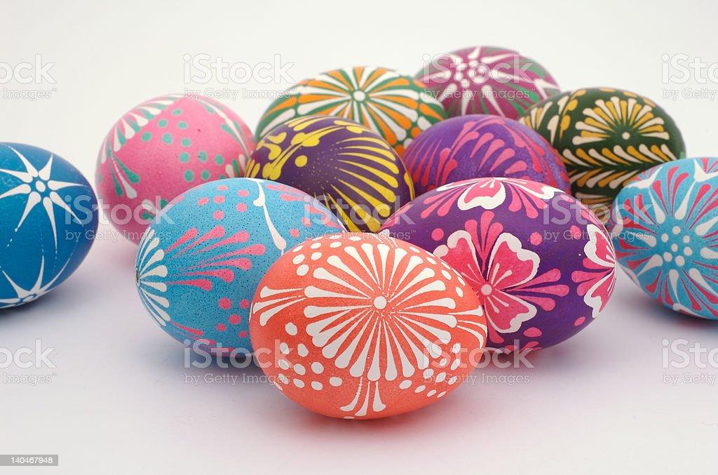 Polish Easter Eggs 8 royalty-free stock photo