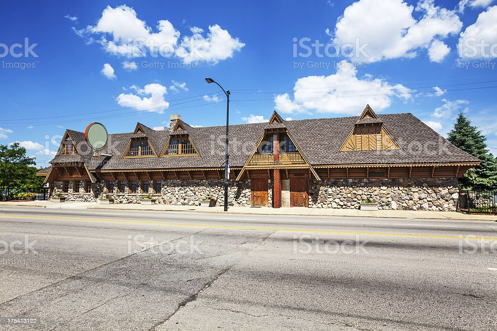 Polish Highlanders of America building, Archer Heights, Chicago royalty-free stock photo