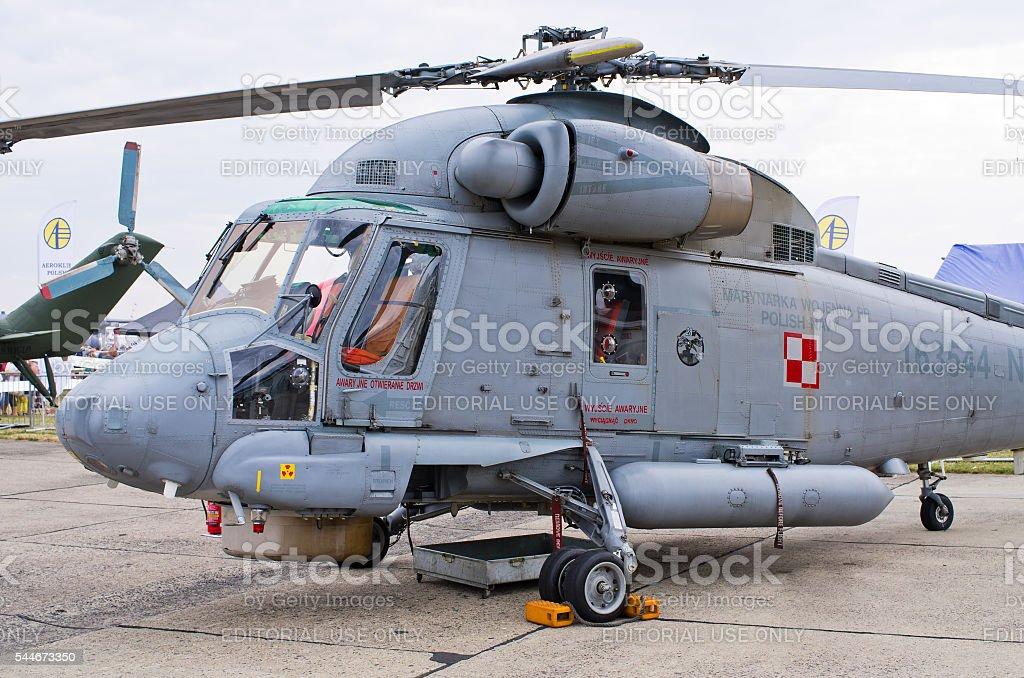Polish Kaman SH-2G Super Seasprite on Radom Airshow, Poland stock photo
