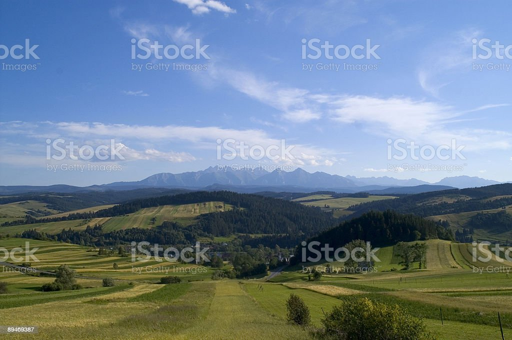 Polaco Paisagem foto de stock royalty-free