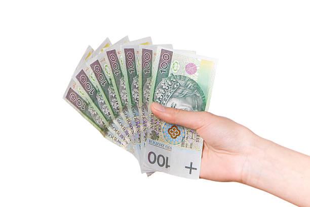 polnische geld - scyther5 stock-fotos und bilder
