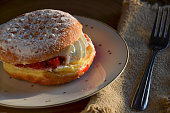 Polish Paczki Pastry Doughtnut