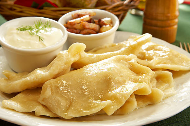 Polish pierogies  polish culture stock pictures, royalty-free photos & images