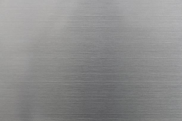 Polished aluminium texture stock photo