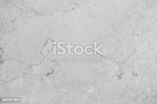 istock Polished light gray marble textured 602301934