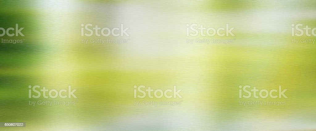 Polished metal surface with Spring reflections stock photo