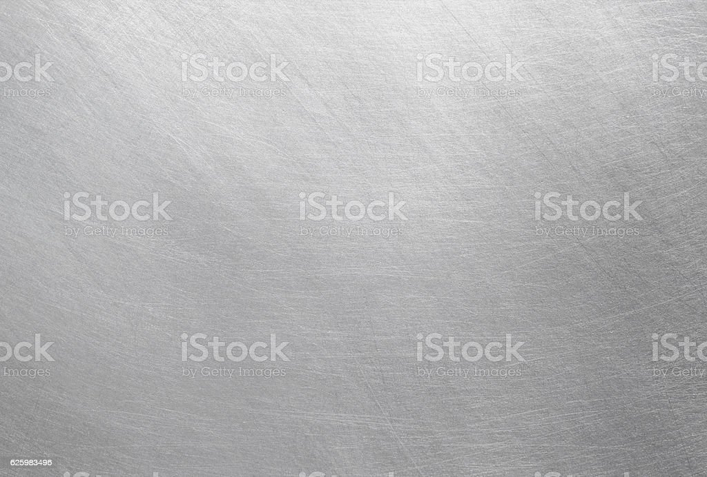 Polished metal texture stock photo