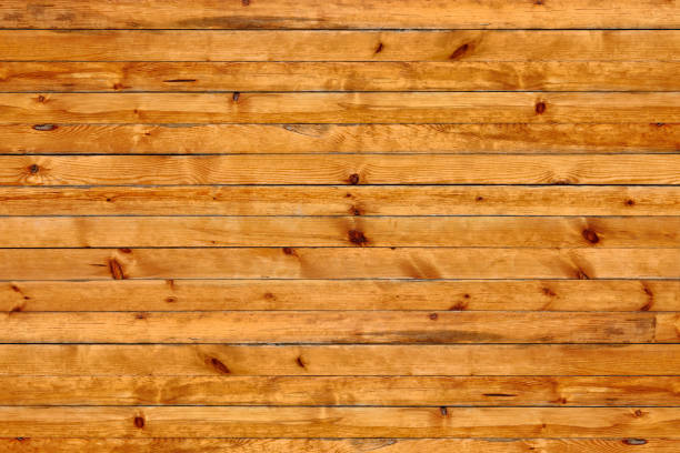 polished pine wooden panel with knots polished pine wooden panel with knots knotted wood stock pictures, royalty-free photos & images