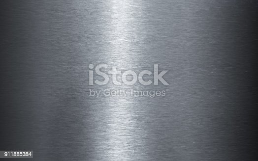 istock Polished stainless steel sheet texture 911885384
