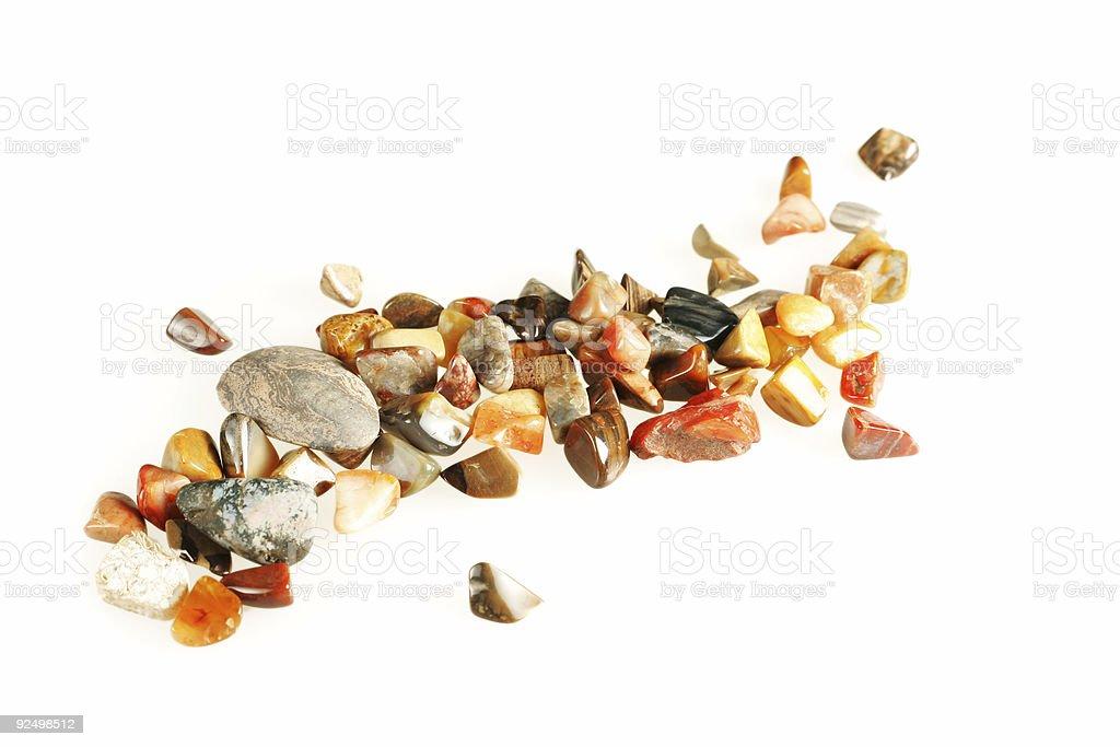 Polished Stones royalty-free stock photo