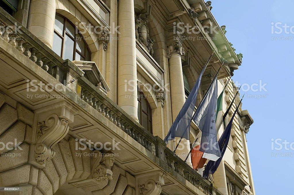 politic palace royalty free stockfoto